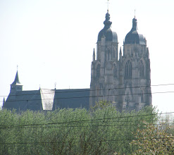 Photo: Day 23 - Amazing Cathedral on Side of the Canal de la Marne ou Rhin