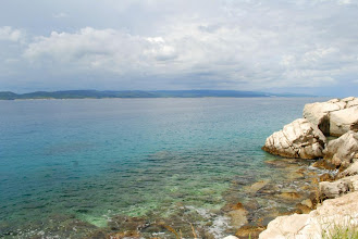 Photo: ten kolor wody nie pozwala zapomnieć tak szybko o atrakcjach Chorwacji