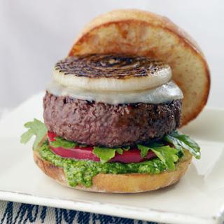 Pesto Beef Burger.