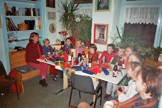 Photo: Adventszeit im LB mit Kindern der Götheschule Frankeneck