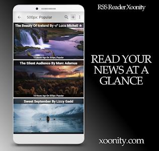 RSS Reader Xoonity - Rss Feed screenshot 0