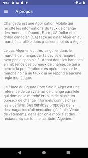 Changeda Le Taux De Change Du Dinar Algerien Apps On Google Play