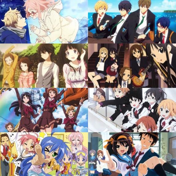 Series de anime realizadas por Kyoto Animation.