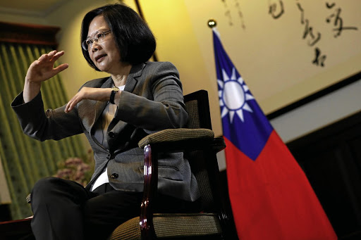 Travelling abroad: President Tsai Ing-wen is heading to the US, Belize and Paraguay in a bid to firm up the island's status. Picture: REUTERS