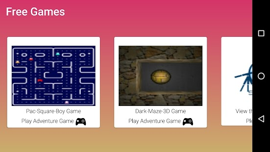 Free Games - náhled