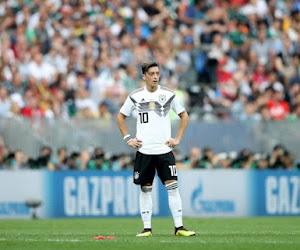 Özil sur le banc avec l'Allemagne, une grande première !