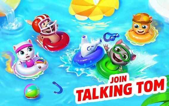 Talking Tom Pool apk screenshot