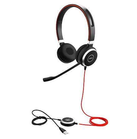Headset Jabra Evolve 40 UC Ste