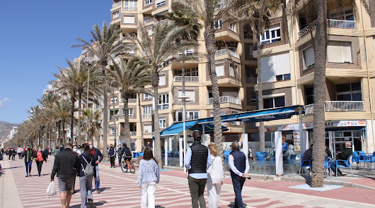 Imagen de archivo del Paseo Marítimo de Almería.