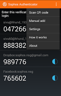 Sophos Authenticator- screenshot thumbnail