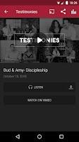 Screenshot of Mid-Cities Church App