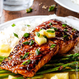 Caramelized Asian BBQ Salmon
