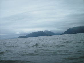 Photo: Looking southest and behind me toward Hogan Island and Work Channel.