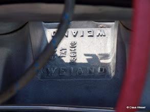 Photo: Weiand Kompressor (den hatte auch Mad Max in Teil 1 bei seinem schwarzen Ford Falcon drauf!)