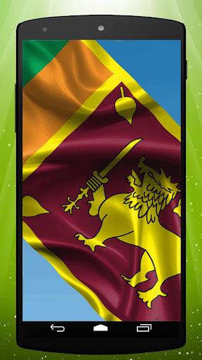 Sri Lankan Flag Live Wallpaper