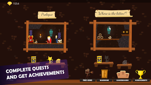 Doge and the Lost Kitten - 2D Platform Game apkmr screenshots 13