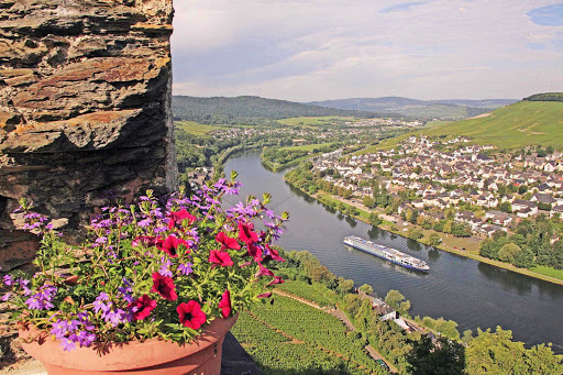 Cruise the Moselle River though Germany and Luxembourg on the luxury cruise ship Avalon Affinity.