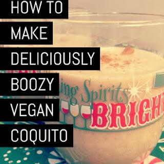 How to Make Deliciously Boozy Vegan Coquito