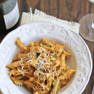 Creamy Pumpkin Pasta with Parmesan & Sage