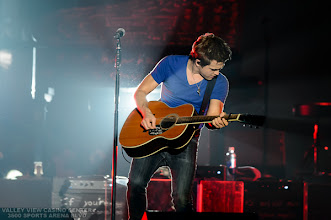 "Photo: Hunter Hayes opens for Carrie Underwood  on October 20, 2012 during her  ""Blown Away"" tour at Valley View Casino Center in San Diego,  California"