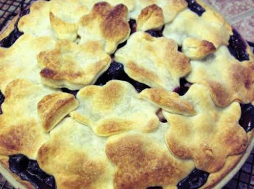 """Rhuberry Pie """"This pie is the BOMB! It turned out beautifully. I..."""