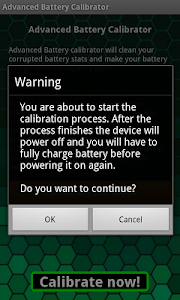 Advanced Battery Calibrator screenshot 1