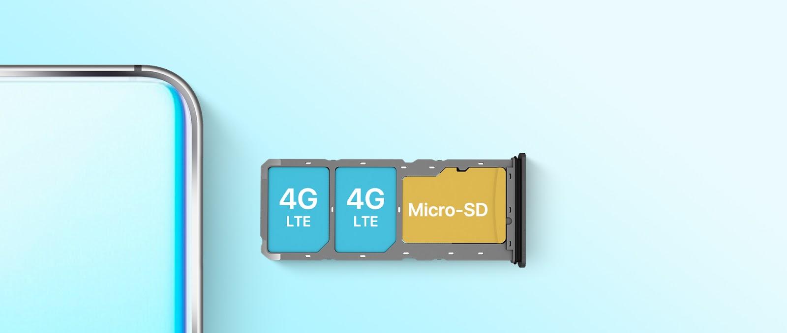 UMIDIGI A5 Pro slot triple