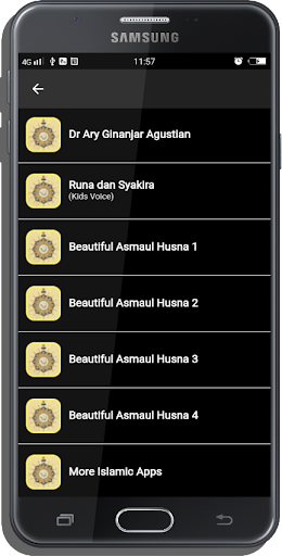 99 Names Of Allah Mp3 (Asmaul Husna) 8.0 screenshots 4