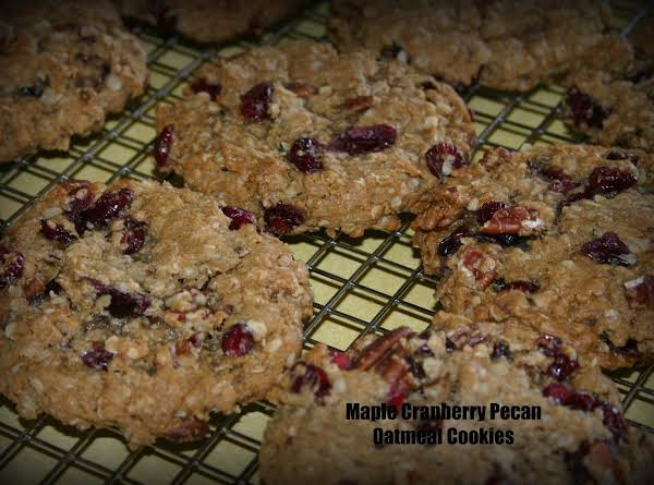 Maple Cranberry Pecan Cookies Recipe