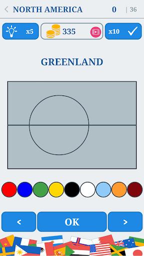 The Flags of the World u2013 Nations Geo Flags Quiz 4.9 screenshots 23
