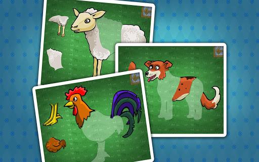 玩免費教育APP|下載拼图与农场动物 app不用錢|硬是要APP
