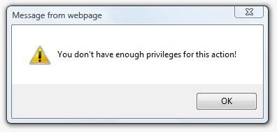 error_privileges