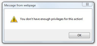 error_privileges