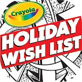 Crayola Kids Holiday Wish List