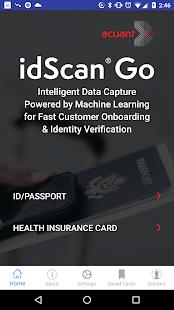 idScan GO - náhled