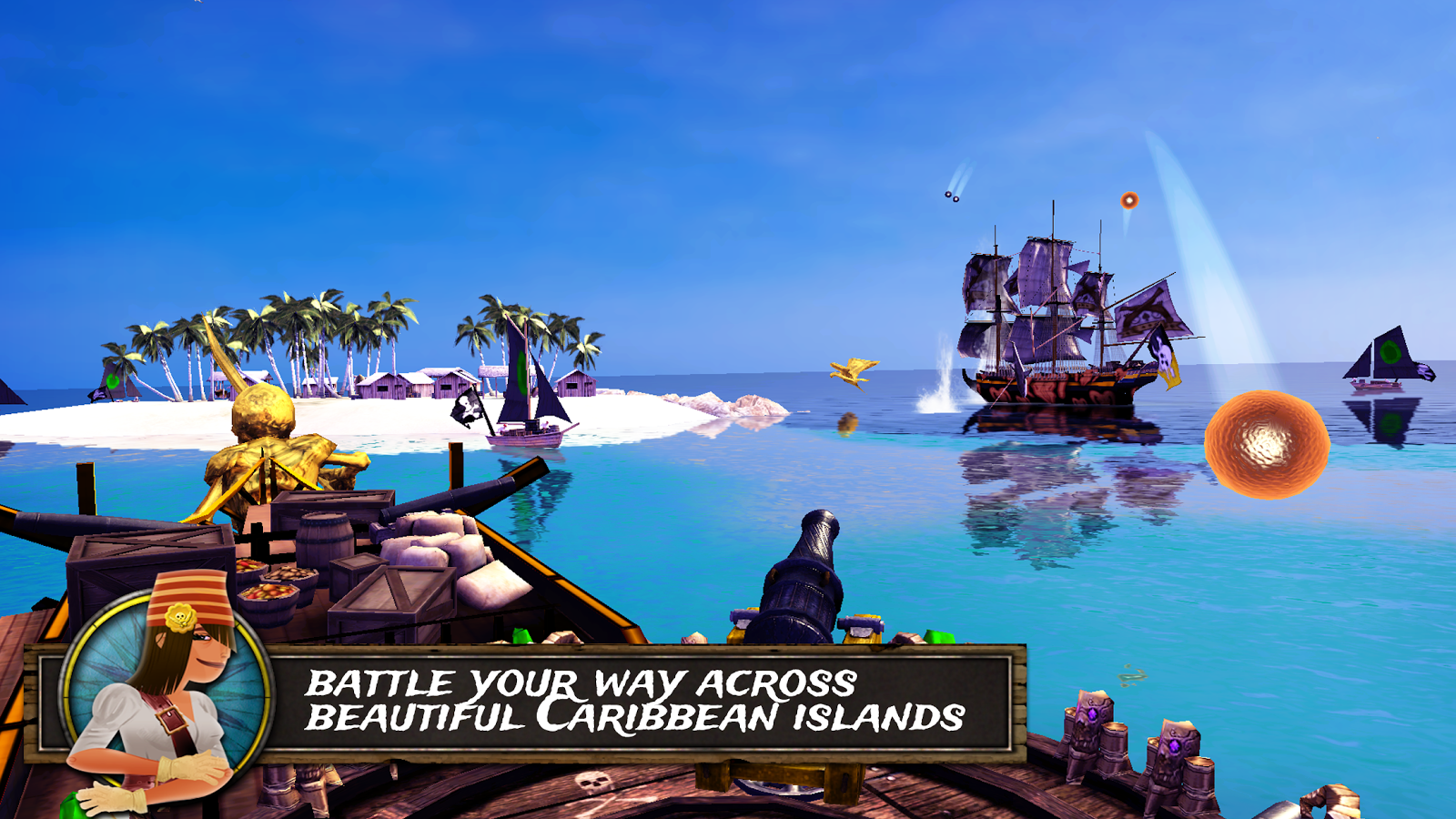 Pirate Quest: Become a Legend- screenshot