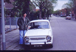Photo: John wilson and his '72 clunker,  Fait 850, cost 200 gilders. In fact it was a great machine,  got me around Limburg for 8 months,  I gave it to my ex boss from AFCENT   (k0ip)