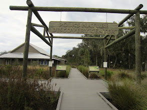 Photo: There are a number of great trails and a nice interpretive center at Circle Bar B Reserve   http://www.swfwmd.state.fl.us/recreation/areas/circlebbarreserve.html