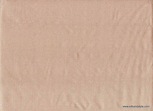 Photo: Agra 11 - Plain Mink   100% Silk Taffeta Plain