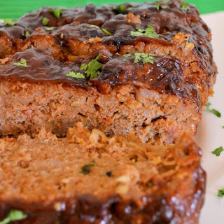 Spicy BBQ Turkey Meatloaf.