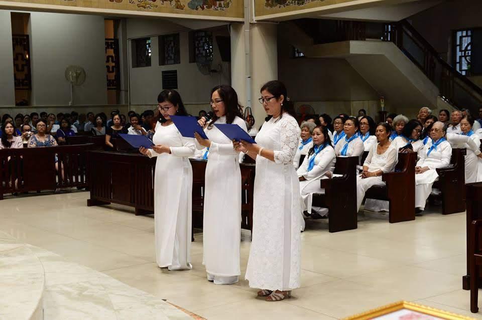 Hội Các Bà Mẹ Công Giáo mừng bổn mạng 2018