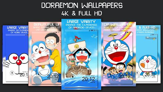blue cat wallpapers 4k full hd doraemon google play のアプリ