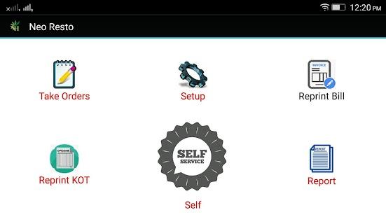 NeoResto - Restaurant Billing Software - náhled