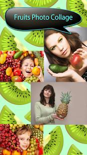 Ovoce foto collage - náhled