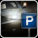 Car Parking overnight icon