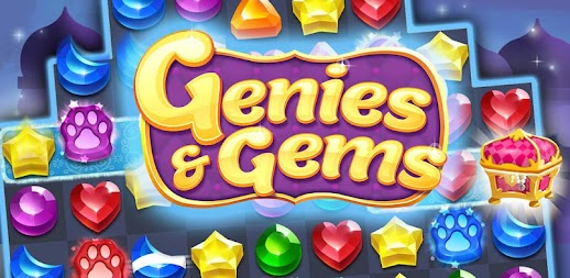 Genies & Gems - Jewel & Gem Matching Adventure APK