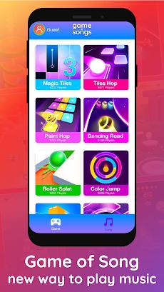 Game of Songs - 無料の音楽とゲームのおすすめ画像2