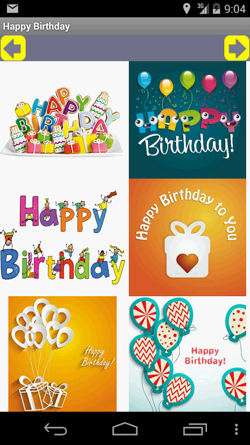 happy birthday card and gif  android apps on google play, Birthday card