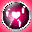 Love radar simulator icon