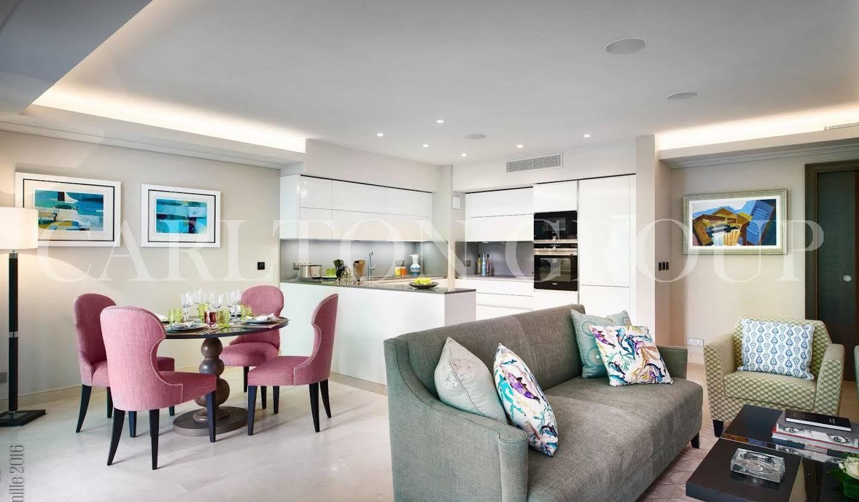 Appartement avec terrasse et piscine Cap d'Antibes
